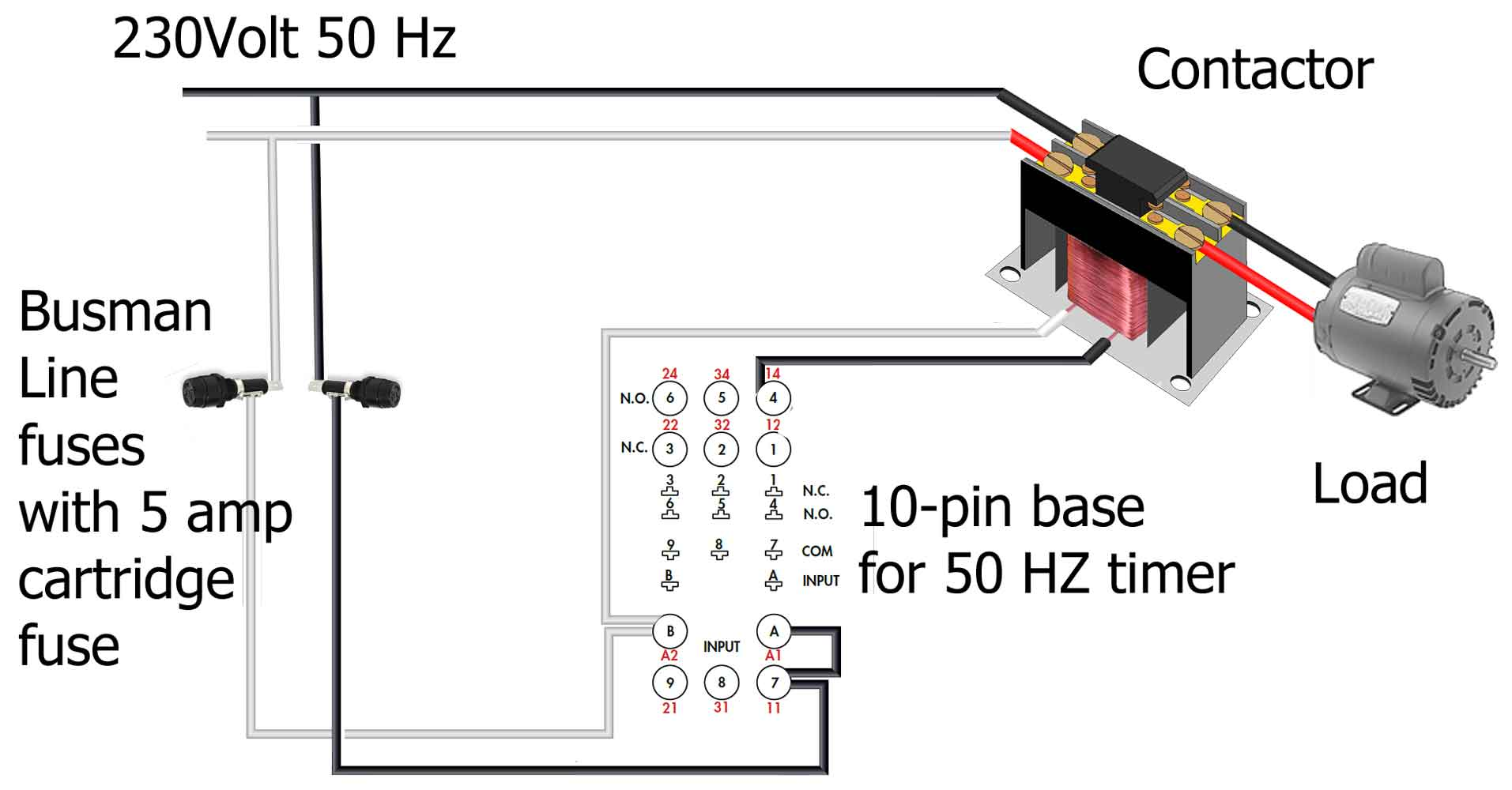 heater timer wiring on 220 volt wiring diagram for intermatic timer