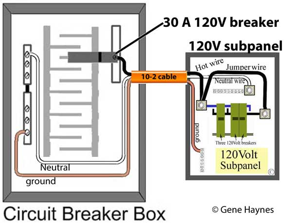 schematic 100 amp breaker box