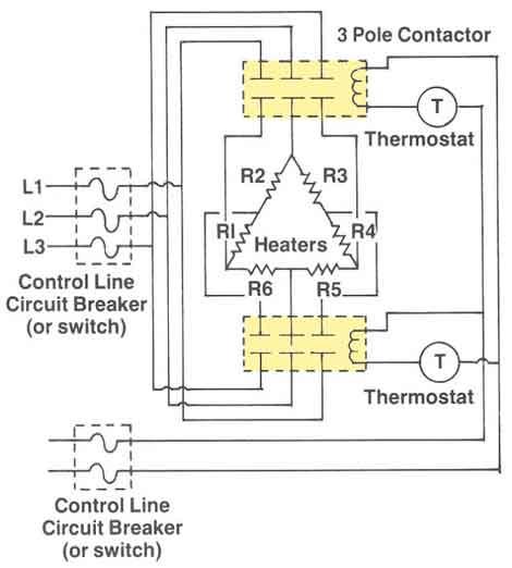 480 volt 1 phase wiring diagram water heater