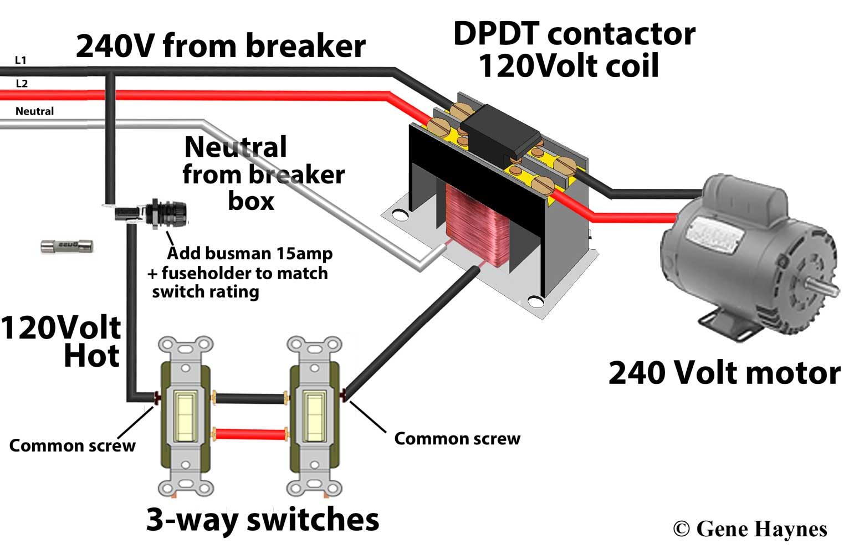 contactors. contactors · wiring diagram ...