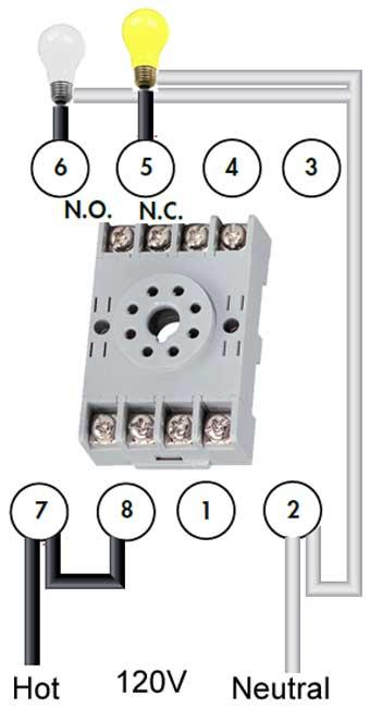 Potter Brumfield 8 Pin Relay Wiring Diagram - Wiring Diagrams Schema