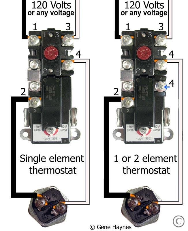 110 Water Heater Thermostat Wiring Diagram - Carbonvotemuditblog \u2022