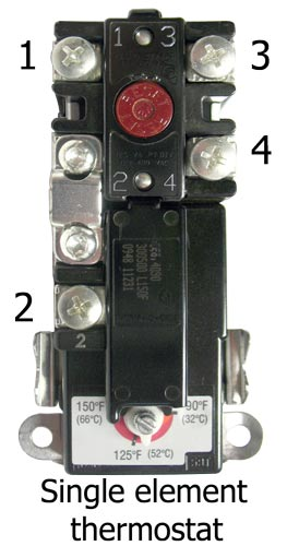 Single Element Thermostat Wiring Diagram - Wwwcaseistore \u2022