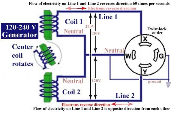 Portable Generator Wiring Diagram 220 Volt Twist Lock Wiring