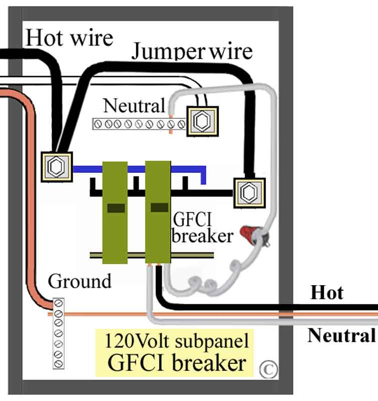 Double Pole Circuit Breaker Wiring Diagram Wiring Schematic Diagram