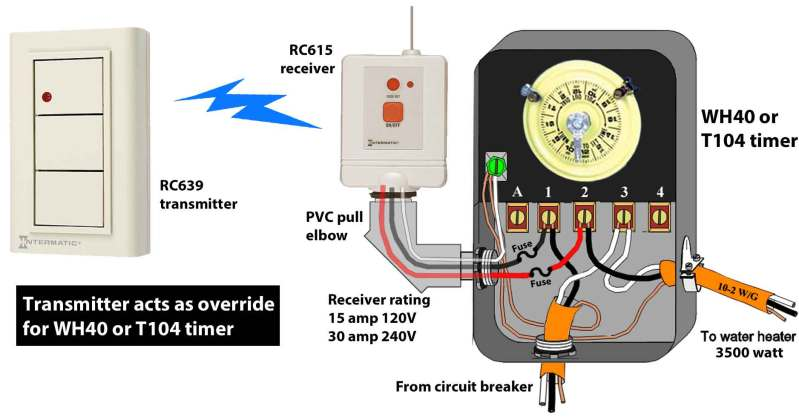 Large Of Water Heater Timer