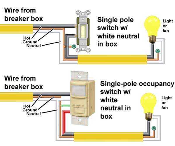 single pole switch 2 lights wiring diagram how to