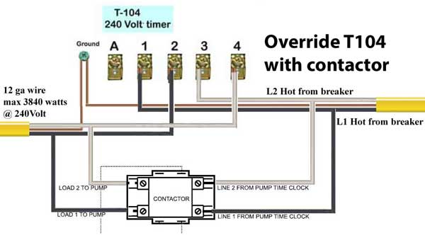 240 Vac Contactor Wiring Wiring Diagram 2019
