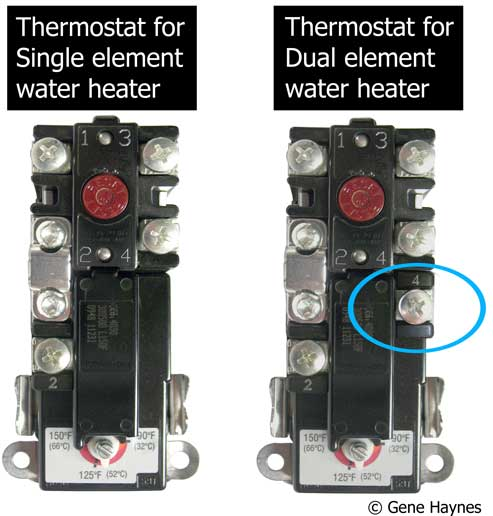 How to select and replace thermostat on electric water heater