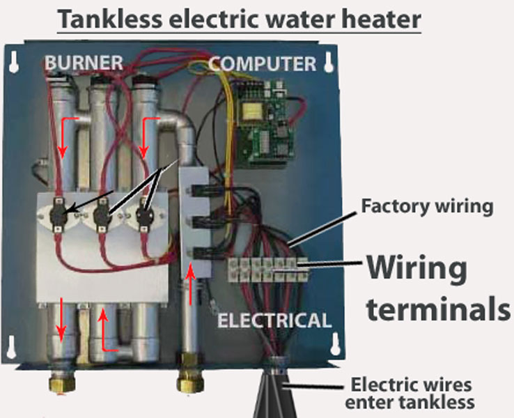 wiring diagram for tankless water heater