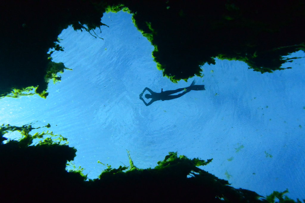 The best guided freediving excursions to the sinkholes in South Australia, with WaterMaarq