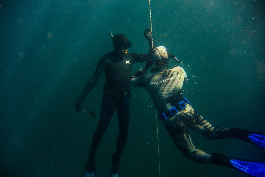 Freediving Training in Melbourne, Port Phillip Bay Boat Dives
