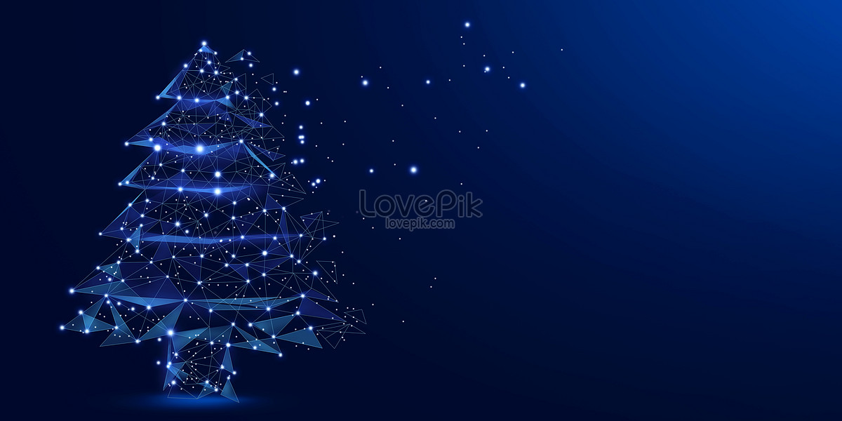 Christmas tree background creative image_picture free download