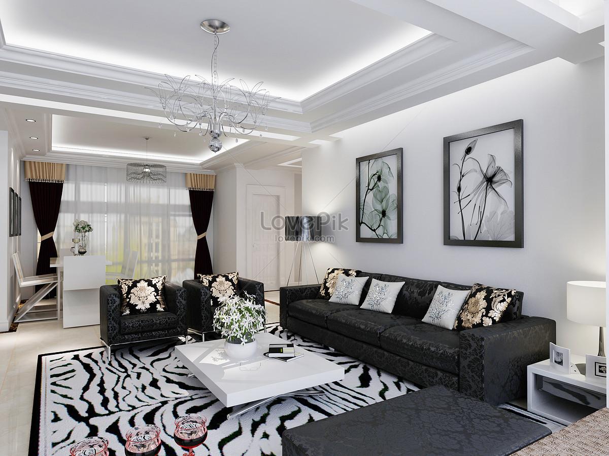 Salotto Moderno Bianco E Grigio : Soggiorno moderno bianco e nero tappeti moderni bianco e nero