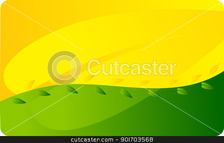 Business card template stock vector