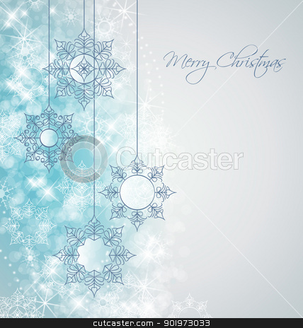 Christmas background stock vector - watermark christmas