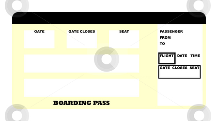 Fake Plane Ticket Template – Plane Ticket Template