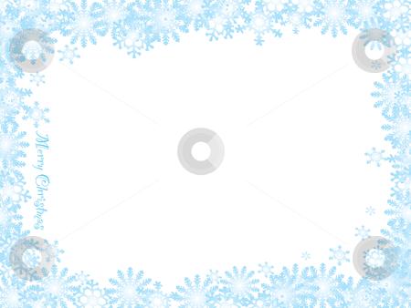Snowflake christmas white night stock vector - watermark christmas