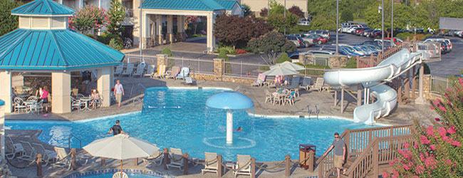 Music Road Resort Outdoor Water Slide wide