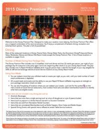 Walt Disney World Dining Plan   Orlando Resort Packages