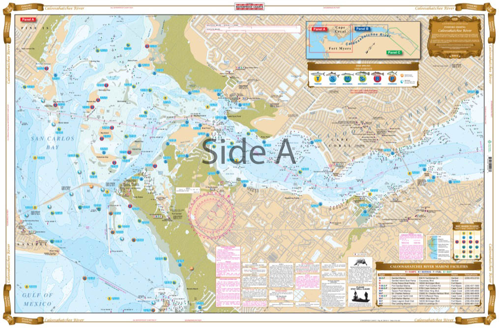 Northern Lake Champlain Navigation Chart/maps 12