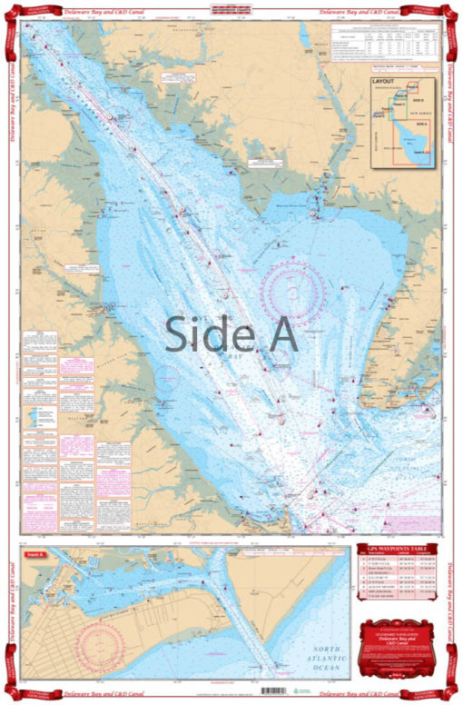 Coverage of Delaware Bay and CD Canal Navigation Chart 48
