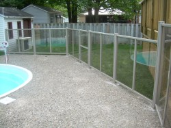 Simple Clear Fence Art Transparent Polymer Fencing From Clear Fence Solutions Outdoor Backyard Accessories Fencing Fayetteville Nc