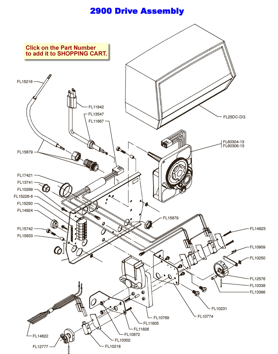 fleck 2900s single casting control valve assembly
