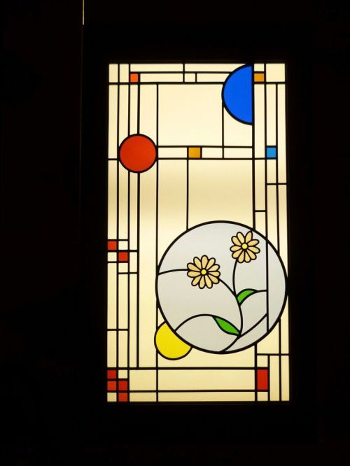 Medium Of Frank Lloyd Wright Stained Glass