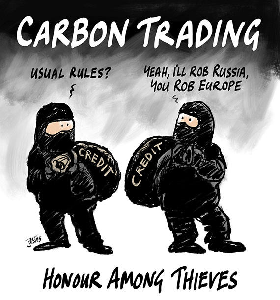 Tuesday titter \u2013 Carbon trading by Josh Watts Up With That?