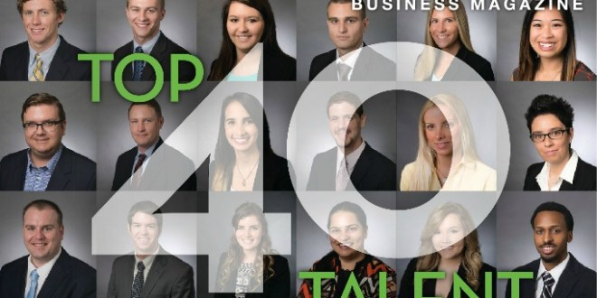 Strong mix of Davis College of Business students honored on 2015 Top 40 Talent list