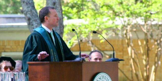 "Mayor Lenny Curry to graduates: No do-overs; only one chance to ""get through this thing called life"""