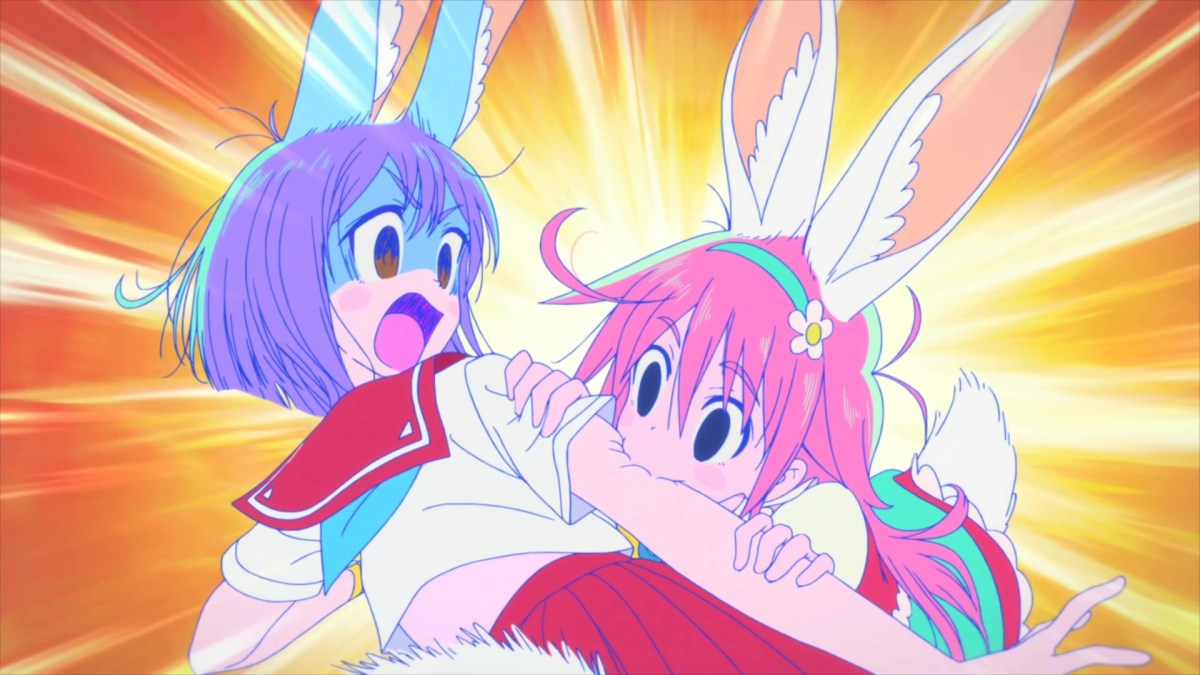 Girl Skirt Wallpaper Weekly Motion Cannon Flip Flappers Episode 2 Wave