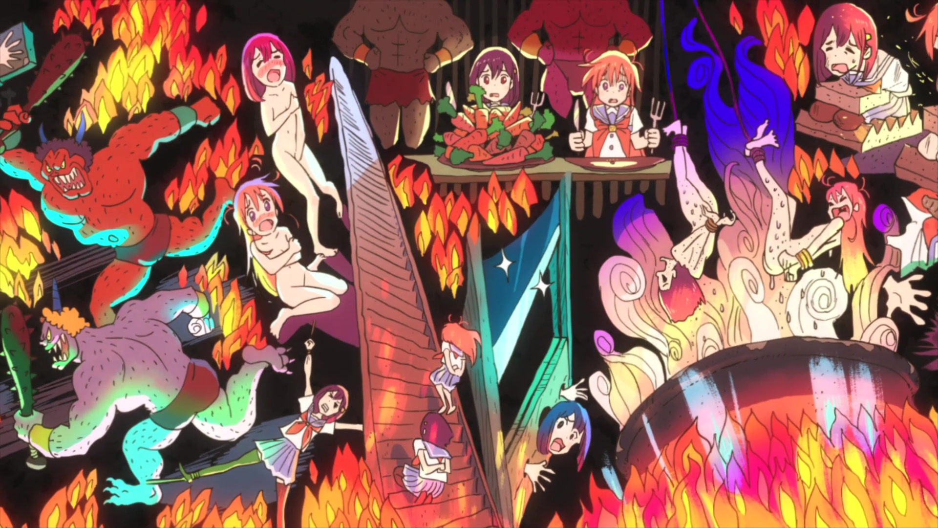 S Animation Wallpaper Flip Flappers Ep7 3 Wave Motion Cannon