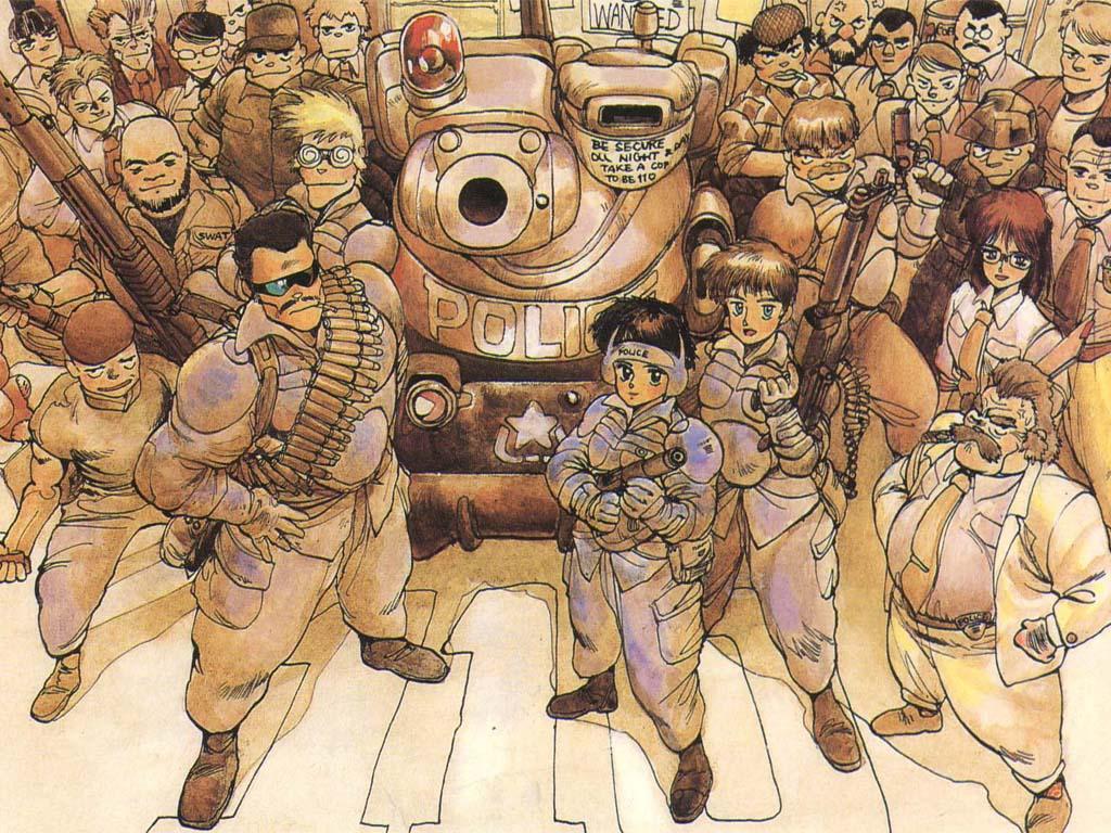 Gun Girl Anime Wallpaper Blade Licking Thieves Episode 22 Dominion Tank Police
