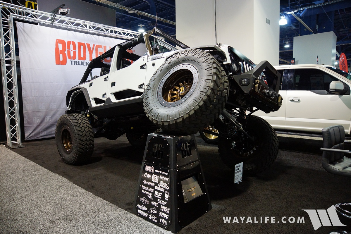 Jeep Jl Accessories 2017 Sema Body Guard Jeep Jk Wrangler Unlimited