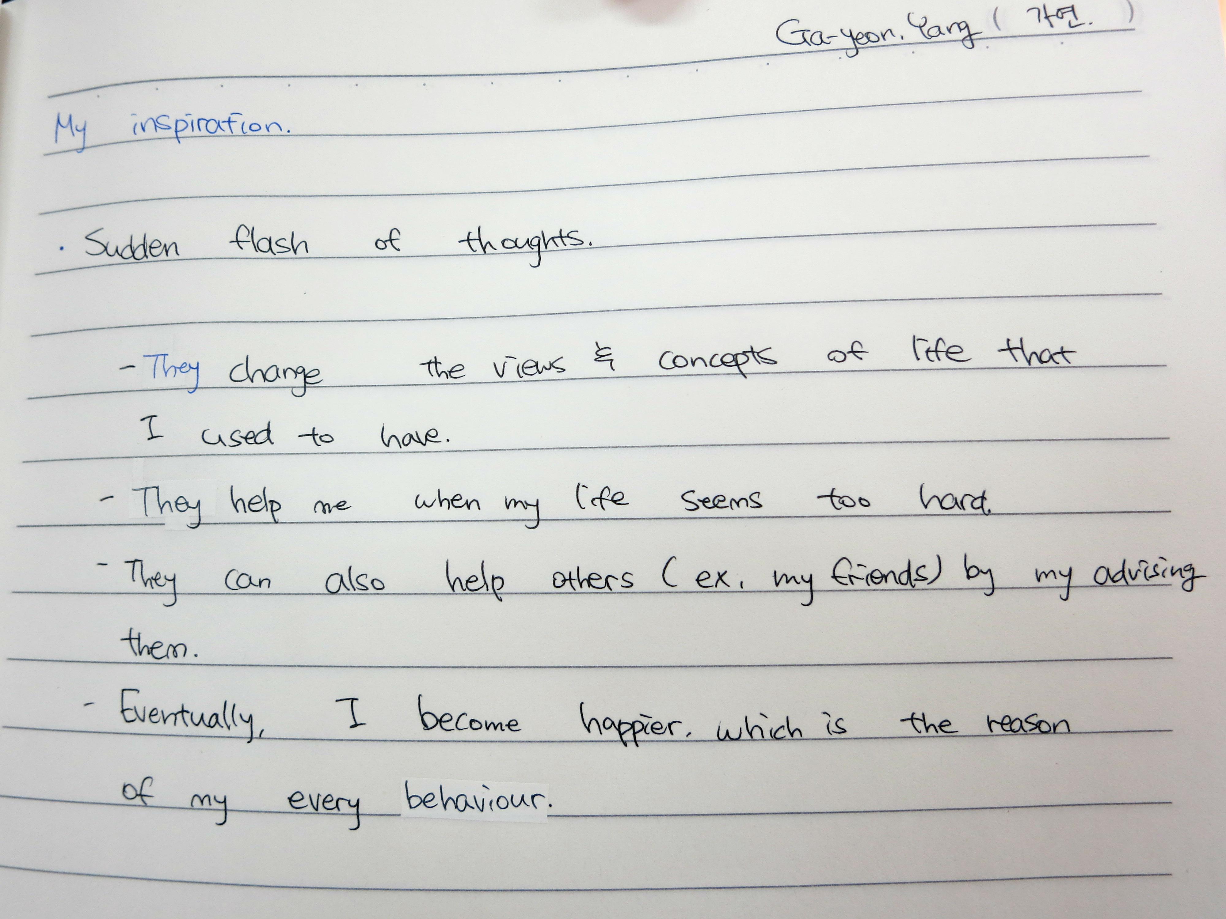 essay writing english my hobby