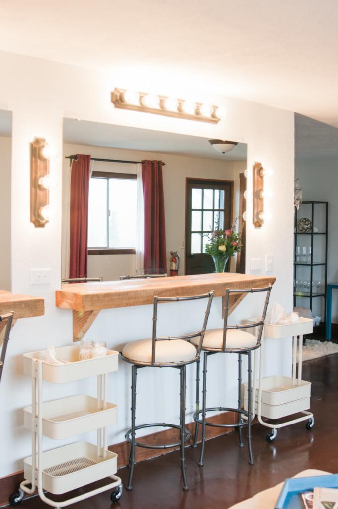 Overlook Barn NC Wedding Venue - Getting Ready Suite