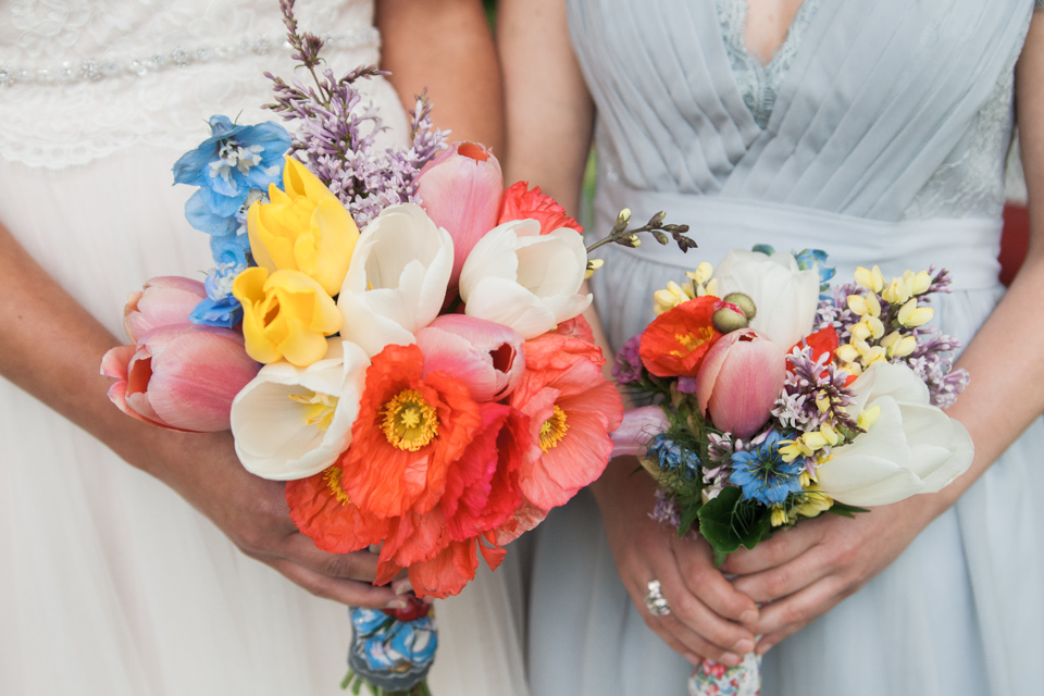 White Fence Farm Wedding - DIY Bouquet Photo