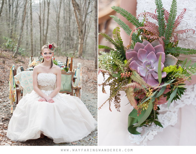 Alice's Adventures in Wonderland | Wedding Styled Shoot | Boone, NC Photographer