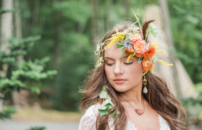 Bohemian Chic Tribal Inspired Styled Photo Shoot