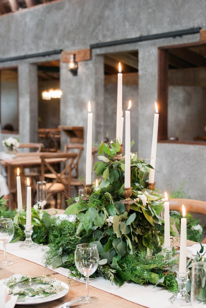 Overlook Barn NC Wedding Venue - Table Decor