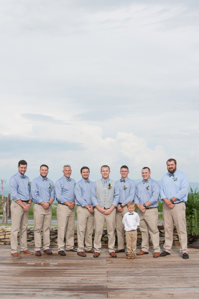 Overlook Barn Banner Elk, NC Wedding - Groomsmen