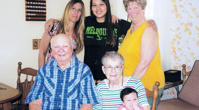 KLENKE FAMILY CELEBRATES 5 GENERATIONS \u2013 The Waynedale News - 5 generations