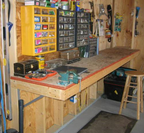 Оборудованный гараж своими руками
