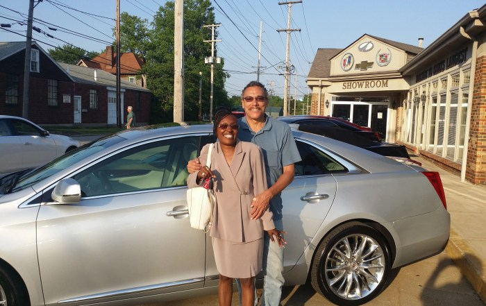 2015 Cadillac XTS V Sport for Roger and Denise