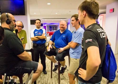 Colin Cummings Interviewed After Winning 2015 USAA World Championship