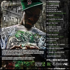 Lu Cipher - Swaggaholic 2 (Back Cover)