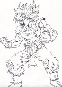 Disegni Da Colorare Di Goku