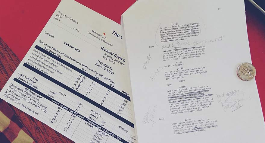 Inside Indie Filmmaking Script Writing Process Features - Way Too Indie